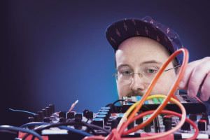BALTIMORE - Musician Dan Deacon photographed in his studio November 17, 2014