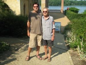 Tim Story and Dieter Moebius, Berlin. Photo: Irene Moebius